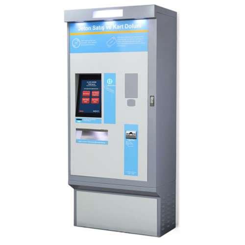 E-Life Kiosk TVM-1000 Bilet Satış Kiosk01